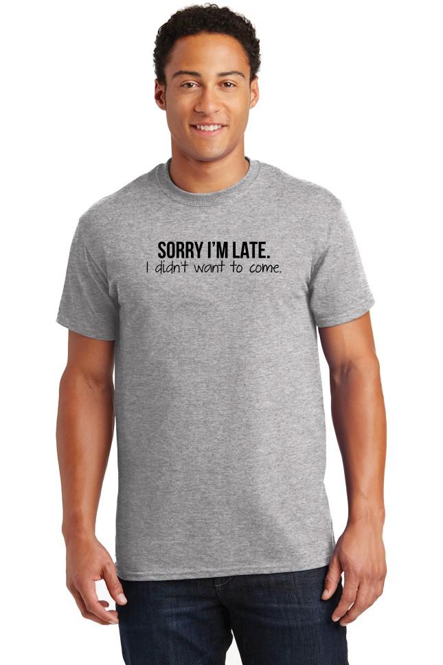 Sorry I